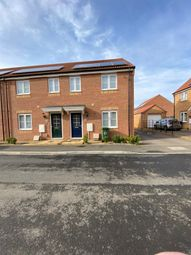 Thumbnail 3 bed end terrace house for sale in Violet Avenue, Whittlesey, Peterborough