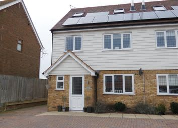 Thumbnail 4 bed semi-detached house to rent in Saltings Close, Whitstable