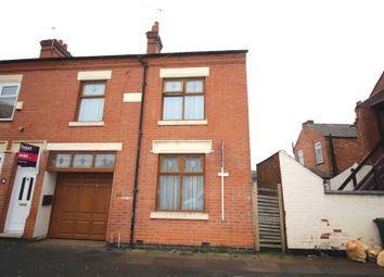 Thumbnail 4 bed end terrace house for sale in Woodland Road, Leicester