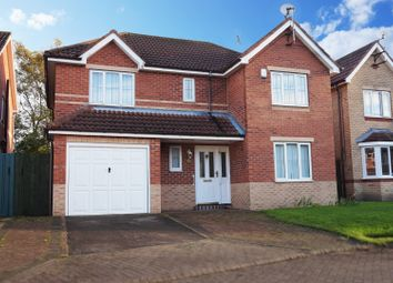 Thumbnail 4 bed detached house for sale in Stuart Close, Bridlington
