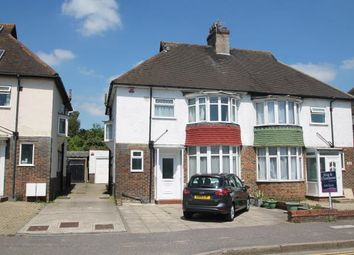 Thumbnail 3 bed semi-detached house for sale in Old Shoreham Road, Hove, East Sussex