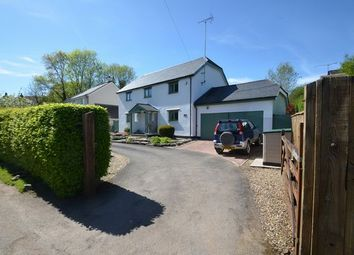 Thumbnail 4 bedroom detached house for sale in Drayford, Crediton