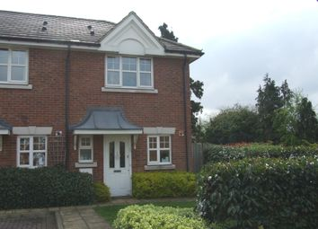 Thumbnail 2 bed end terrace house to rent in Faraday Place, West Molesey