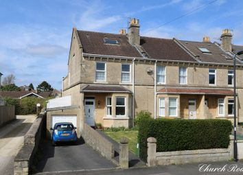 Thumbnail 4 bed end terrace house for sale in Church Road, Combe Down, Bath