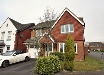 Thumbnail 4 bed detached house for sale in Nightingale Close, Blackburn