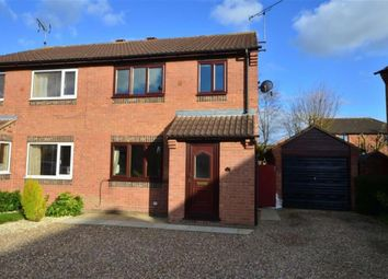 Thumbnail 3 bed semi-detached house to rent in Pasture Court, Sherburn In Elmet