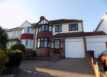 Thumbnail 4 bedroom semi-detached house for sale in Longmoor Road, Sutton Coldfield, West Midlands