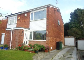 Thumbnail 2 bed semi-detached house to rent in Shearwater Road, Offerton, Stockport