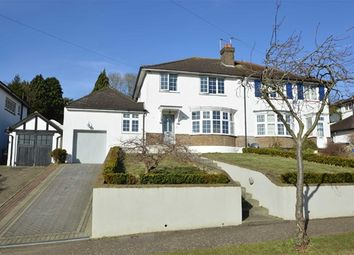 Thumbnail 3 bed semi-detached house to rent in Woodcrest Road, Purley