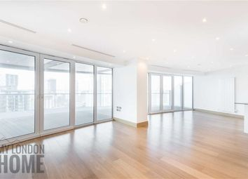 Thumbnail 3 bedroom flat to rent in Arena Tower, Canary Wharf, London