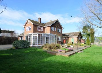 Thumbnail 4 bed detached house for sale in Church Lane, Saltfleetby, Louth