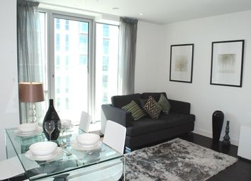 Thumbnail 1 bed flat to rent in Pan Peninsula Square, East Tower 1, Canary Wharf