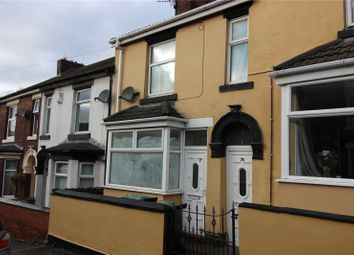 Thumbnail 1 bed terraced house for sale in Dartmouth Street, Burslem, Stoke-On-Trent