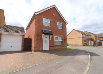 Thumbnail 4 bed detached house for sale in Vincent Road, Scartho Top, Grimsby