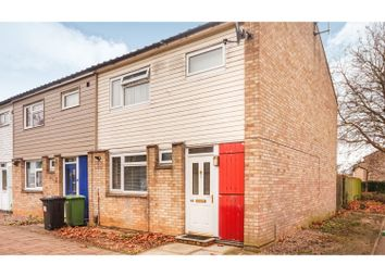 Thumbnail 3 bed end terrace house for sale in Adderley, Peterborough