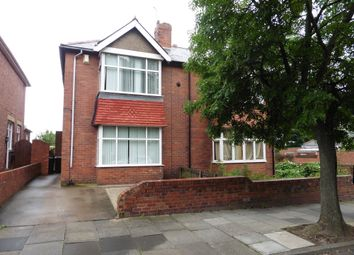 Thumbnail 3 bed semi-detached house for sale in Queen Alexandra Road West, North Shields
