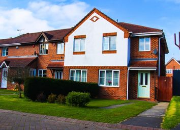 Thumbnail 3 bed terraced house to rent in Tomkinson Close, Crewe
