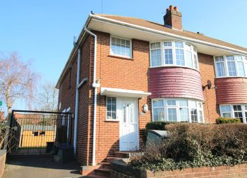Thumbnail 3 bed semi-detached house for sale in Harcourt Road, Southampton