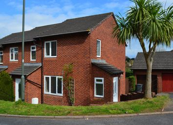 Thumbnail 2 bed end terrace house for sale in Falmouth Close, Veille Park, Torquay