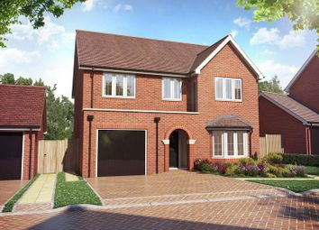 "Thumbnail 4 bed detached house for sale in ""The Pebworth"" at Weston Road, Aston Clinton, Aylesbury"