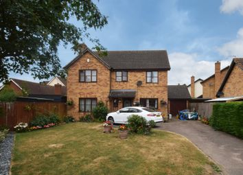Thumbnail 4 bed detached house for sale in Blackbourne Road, Elmswell, Bury St. Edmunds