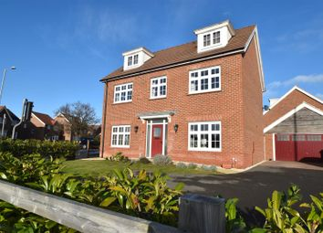 Thumbnail 5 bed detached house for sale in Fernywood Close, Worcester