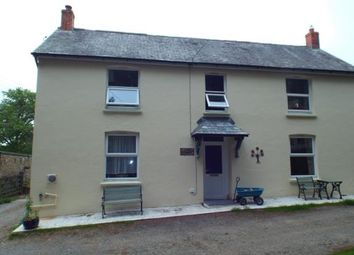Thumbnail 3 bed semi-detached house for sale in Beaworthy, Devon