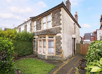 Thumbnail 4 bed semi-detached house for sale in Salthrop Road, Bishopston, Bristol