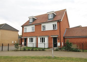 Thumbnail 3 bed property to rent in Brentwood, Eaton, Norwich