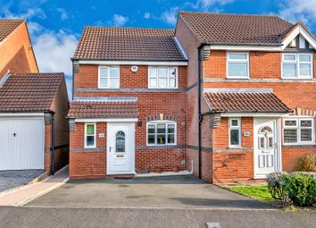 Thumbnail 3 bed semi-detached house for sale in Corsican Drive, Hednesford, Cannock