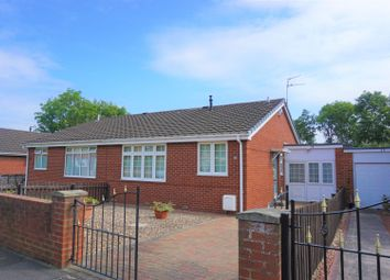 Thumbnail 2 bed semi-detached bungalow for sale in Moorland Court, Bedlington