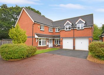Thumbnail 5 bed detached house for sale in Eider Drive, Leegomery, Telford