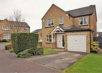 Thumbnail 4 bed detached house for sale in Upper Hall View, Halifax