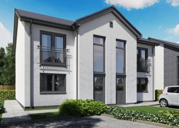 Thumbnail 3 bed semi-detached house for sale in Napierston Gate, Alexandria, West Dunbartonshire
