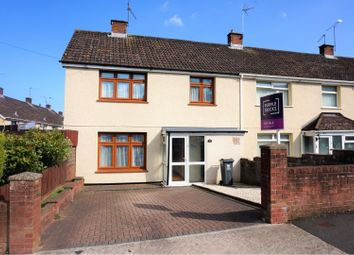 3 bed end terrace house for sale in Menai Way, Trowbridge CF3
