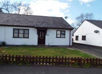 Thumbnail 2 bed semi-detached bungalow to rent in Garreg Lwyd, Gwyddelwern, Corwen