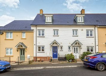 Thumbnail 4 bed town house for sale in Ffordd Y Draen, Coity, Bridgend
