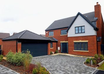 Thumbnail 5 bed detached house for sale in Willows Lane, Atherstone, Warwickshire