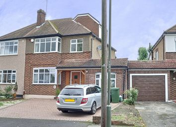 Thumbnail 4 bed semi-detached house for sale in Torver Way, Orpington, Kent