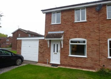 Thumbnail 2 bed semi-detached house to rent in Mallory Road, Perton, Wolverhampton