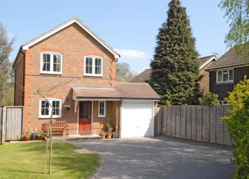 Thumbnail 3 bed detached house for sale in Arlott Close, Eversley, Hook