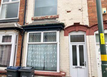 Thumbnail 3 bed terraced house to rent in 55 Gravelly Lane, Erdington Birmingham