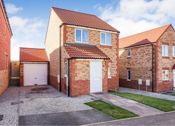 Thumbnail 3 bed detached house for sale in Plowes Way, Knottingley
