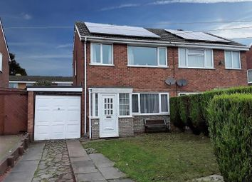 Thumbnail 3 bed semi-detached house for sale in Wombridge Road, Trench, Telford