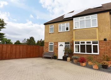 Thumbnail 4 bedroom semi-detached house for sale in Somerset Close, New Malden