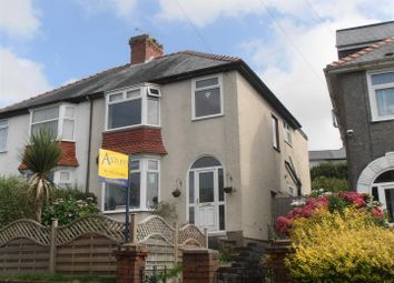 Thumbnail 4 bed semi-detached house for sale in Lon Coed Bran, Cockett, Swansea