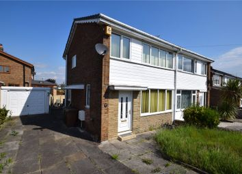 Thumbnail 3 bed semi-detached house for sale in Meadowfields Drive, Crofton, Wakefield, West Yorkshire