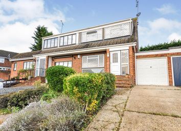 Thumbnail 3 bed semi-detached house for sale in Court Crescent, Swanley, Kent