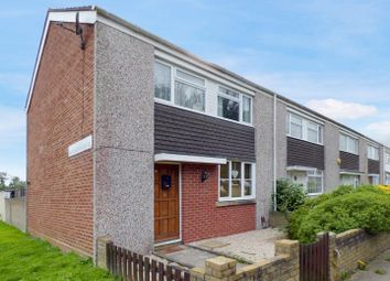 Thumbnail 3 bed end terrace house for sale in Gainsborough Close, Southampton