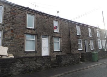 Thumbnail 1 bed terraced house to rent in Cardiff Street, Rct